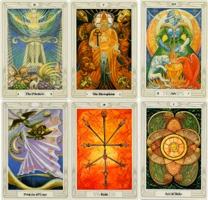 Crowley Thoth Sample Cards
