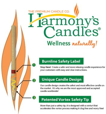 Harmony Candles - Safest Ear Candles Available on the Market Today