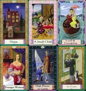 Sample Kipper Tarot Cards