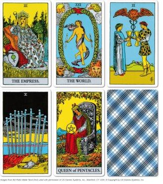 Rider Waite Tarot Card Samples