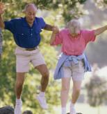 The elderly enjoy better balance