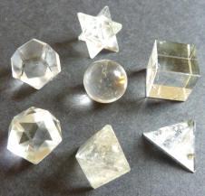 Sacred Geometry Crystal Set