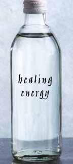 Example of use for Healing Medicine Water Blessing Labels