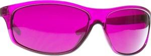 Magenta Colored Glasses